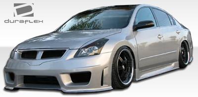 Fits Nissan Altima 4DR Sigma Duraflex Full 4 Pcs Body Kit 2007-2009