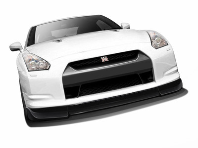 Fits Nissan GTR AF-2 Aero Function (CFP) Front Bumper Lip Body Kit 2009-2011