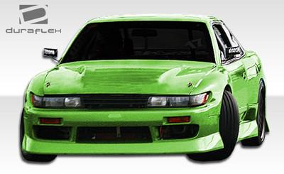 Fits Nissan S13 Silvia B-Sport Duraflex Front Body Kit Bumper 1989-1994