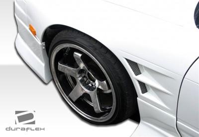 Fits Nissan S13 Silvia D-1 Duraflex Body Kit- Fenders 1989-1994