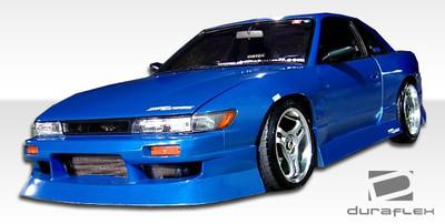 Fits Nissan S13 Silvia Type U Duraflex Front Body Kit Bumper 1989-1994