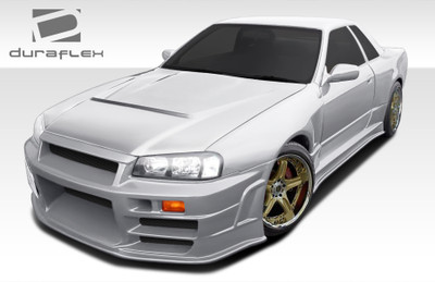 Fits Nissan Skyline 2DR R324 Conversion Duraflex Full Body Kit 1989-1994