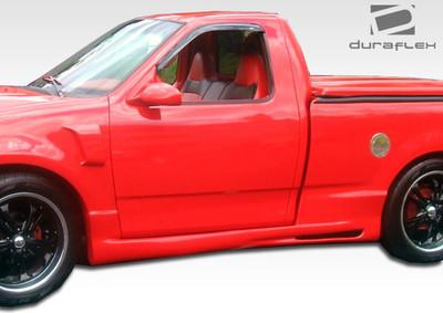 Ford F150 2DR Platinum Duraflex Side Skirts Body Kit 1997-2003