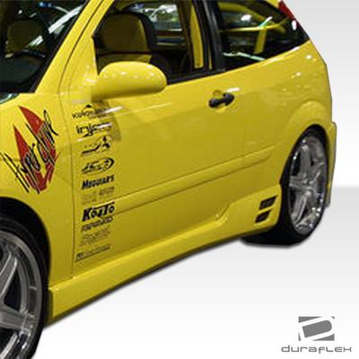 Ford Focus HB Evo 3 Duraflex Side Skirts Body Kit 2000-2007