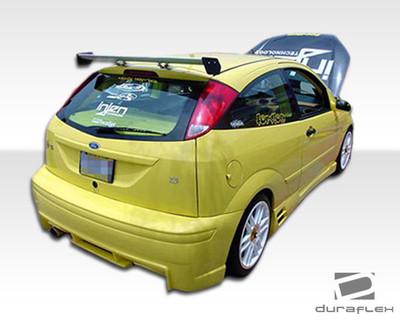 Ford Focus HB Evo Duraflex Rear Body Kit Bumper 2000-2007