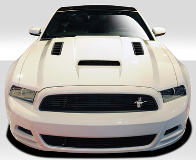 Ford Mustang CV-X Duraflex Body Kit- Hood 2013-2014