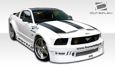 Ford Mustang Hot Wheels Duraflex Full 8 Pcs Wide Body Kit 2005-2009