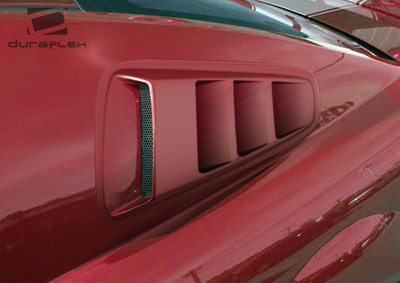 Ford Mustang Hot Wheels Window Duraflex Scoop 2010-2014