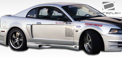 Ford Mustang KR-S Duraflex Side Skirts Body Kit 1999-2004
