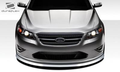 Ford Taurus Racer Duraflex Front Bumper Lip Body Kit 2010-2012
