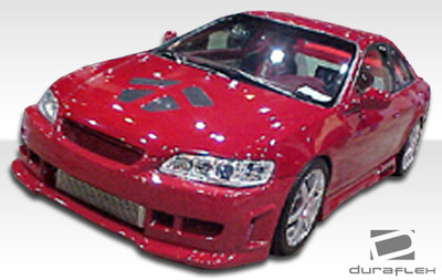 Honda Accord 2DR Spyder Duraflex Front Body Kit Bumper 1998-2002