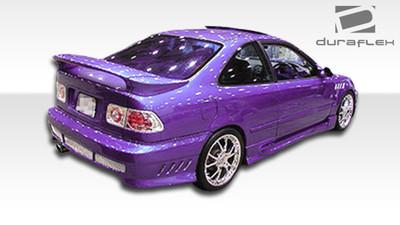 Honda Civic 2DR AVG Duraflex Rear Body Kit Bumper 1996-2000