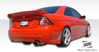 Honda Civic 2DR B-2 Duraflex Rear Body Kit Bumper 2001-2005