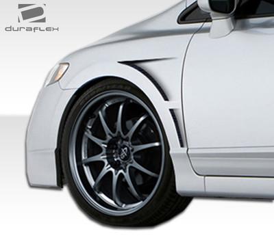 Honda Civic 4DR GT Concept Duraflex Body Kit- Fenders 2006-2011