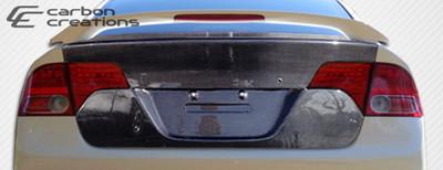 Honda Civic 4DR OEM Carbon Fiber Creations Body Kit-Trunk/Hatch 2006-2011