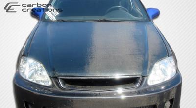 Honda Civic OEM Carbon Fiber Creations Body Kit- Hood 1996-1998