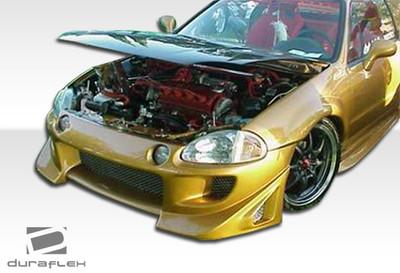 Honda Del Sol Blits Duraflex Front Body Kit Bumper 1993-1997