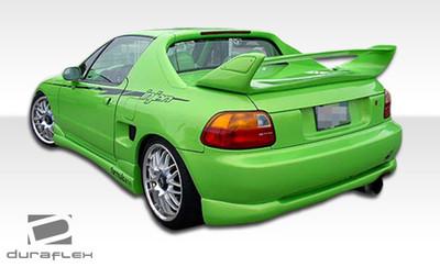 Honda Del Sol Type M Duraflex Rear Body Kit Bumper 1993-1997