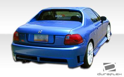 Honda Del Sol Xtreme Duraflex Rear Body Kit Bumper 1993-1997