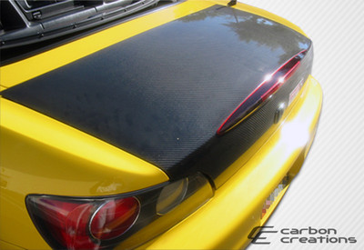 Honda S2000 OEM Carbon Fiber Creations Body Kit-Trunk/Hatch 2000-2009