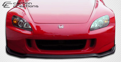 Honda S2000 Type M Carbon Fiber Creations Front Bumper Lip Body Kit 2004-2009
