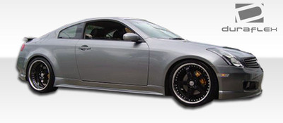 Infiniti G Coupe 2DR GT Competition Duraflex Side Skirts Body Kit 2003-2007