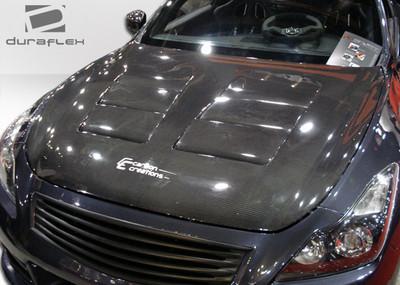 Infiniti G Coupe 2DR GT Concept Duraflex Body Kit- Hood 2008-2015