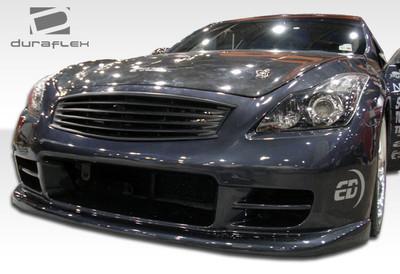 Infiniti G Coupe 2DR GT Concept Duraflex Front Body Kit Bumper 2008-2015