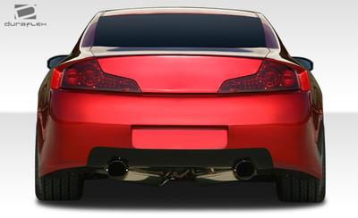 Infiniti G Coupe 2DR GT500 Duraflex Rear Wide Body Kit Bumper 2003-2007