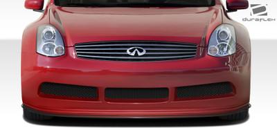 Infiniti G Coupe 2DR GT500 Duraflex Wide Front Bumper Lip Body Kit 2003-2007