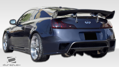 Infiniti G Coupe 2DR GT-R Duraflex Rear Body Kit Bumper 2008-2015