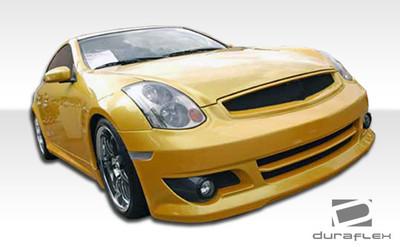 Infiniti G Coupe 2DR K-1 Duraflex Front Body Kit Bumper 2003-2007
