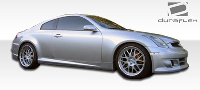 Infiniti G Coupe 2DR K-1 Duraflex Side Skirts Body Kit 2003-2007