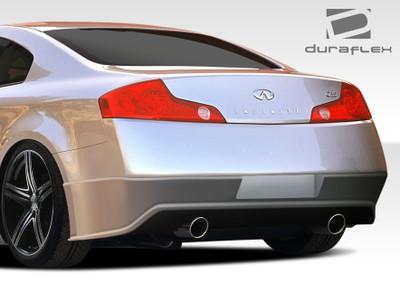 Infiniti G Coupe 2DR Sigma Duraflex Rear Body Kit Bumper 2003-2007
