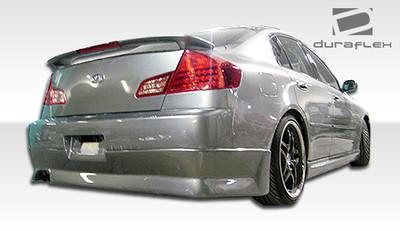 Infiniti G Sedan 4DR GT Competition Duraflex Rear Body Kit Bumper 2003-2004