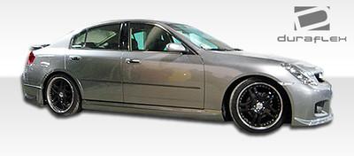 Infiniti G Sedan 4DR GT Competition Duraflex Side Skirts Body Kit 2003-2004