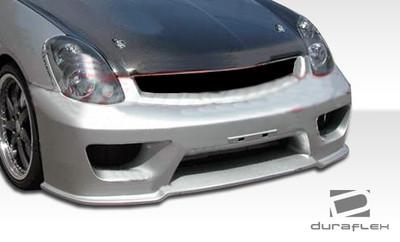 Infiniti G Sedan 4DR Sigma Duraflex Front Body Kit Bumper 2003-2004