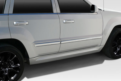 Jeep Grand Cherokee SRT Look Duraflex Side Skirts Body Kit 2005-2010