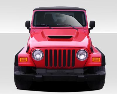 Jeep Wrangler CV-X Duraflex Body Kit- Hood 1997-2006