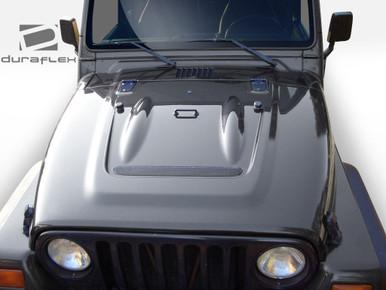 Jeep Wrangler Heat Reduction Duraflex Body Kit Hood 1997 2006
