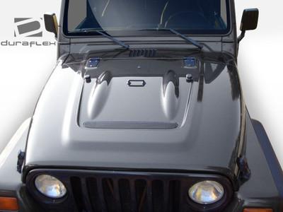 Jeep Wrangler Heat Reduction Duraflex Body Kit- Hood 1997-2006