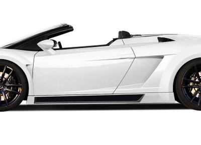 Lamborghini Gallardo AF-1 Aero Function Side Skirts for Wide Body Kit 2004-2008
