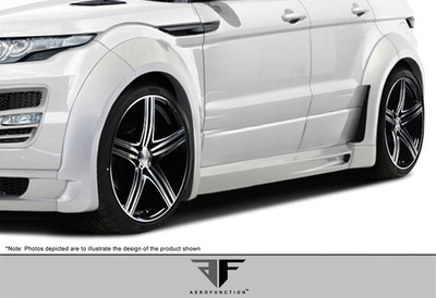 Land Rover Evoque AF-1 Aero Function Body Kit- Fenders 2012-2015
