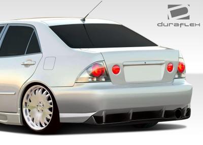 Lexus IS 4DR C-Speed Duraflex Rear Body Kit Bumper 2000-2005