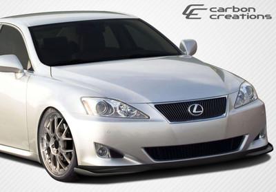 Lexus IS 4DR VIP Carbon Fiber Creations Front Bumper Lip Body Kit 2006-2008