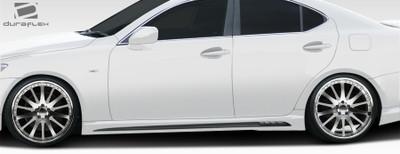 Lexus IS W-1 Duraflex Side Skirts Body Kit 2006-2013