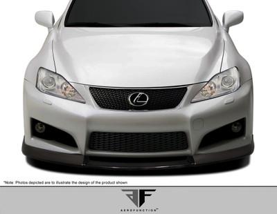 Lexus IS-F AF-1 Aero Function Front Bumper Lip Body Kit 2008-2014