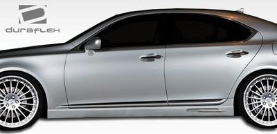 Lexus LS W-1 Duraflex Side Skirts Body Kit 2007-2012
