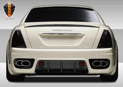 Maserati Quattroporte Eros Version 1 Duraflex Rear Body Kit Bumper 2005-2007