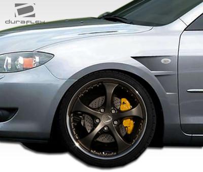 Mazda 3 4DR GT Concept Duraflex Body Kit- Fenders 2004-2009